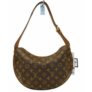 LOUIS VUITTON Monogram Canvas Croissant MM Bag
